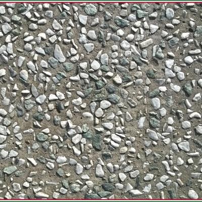 Pavimento per esterni in ghiaino lavato con sassi a punta antiscivolo a Piacenza