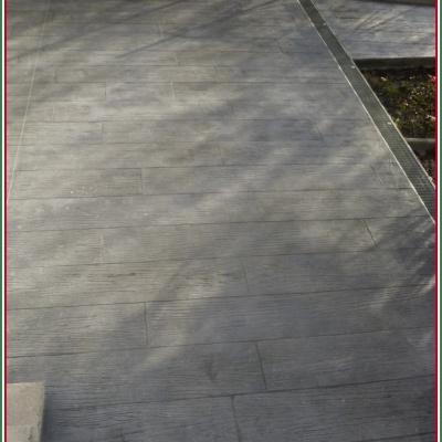 Assi di legno decorativo realizzate in cemento