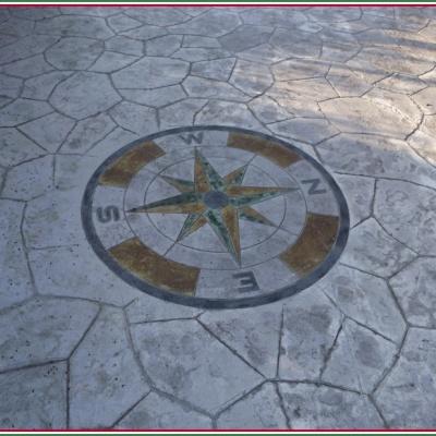 Creazione loghi personalizzati su cemento a Piacenza
