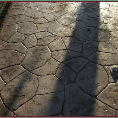 Resina stampata effetto pietra irregolare