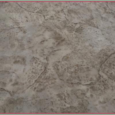 Pavimento in cemento stampato effetto roman slate color grigio