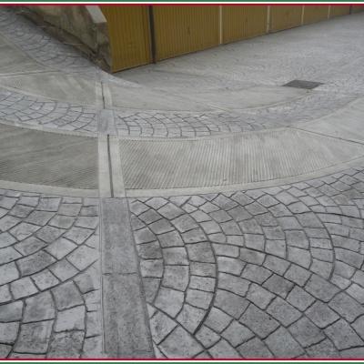 Cemento stampato carrabile per pavimentazioni esterne a Piacenza